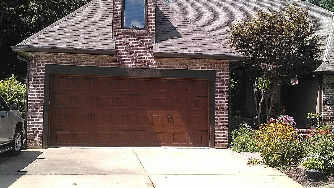 One Of Our Recent Installations Raynor Garage Doors Of Kansas City
