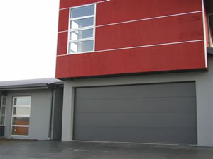 Charmant Clopay BlackRibbed Steel Flush Panel No2 Garage ...